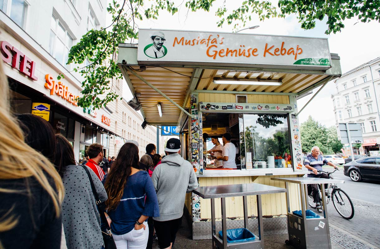 Berliinin suosituin kebab