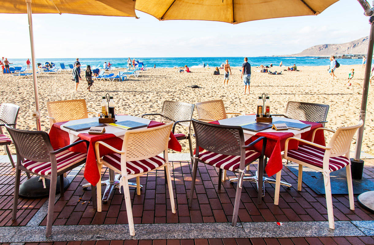 Espanjalaiset rantaravintolat