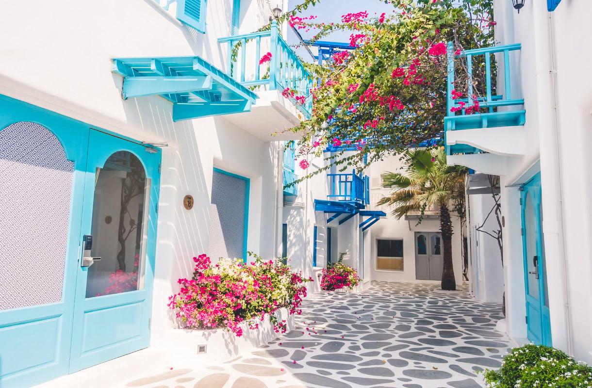 Mykonos, Kreikka