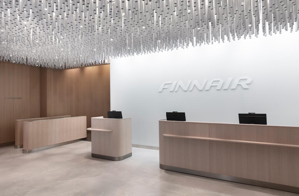 Finnairin non-Schengen-lounge