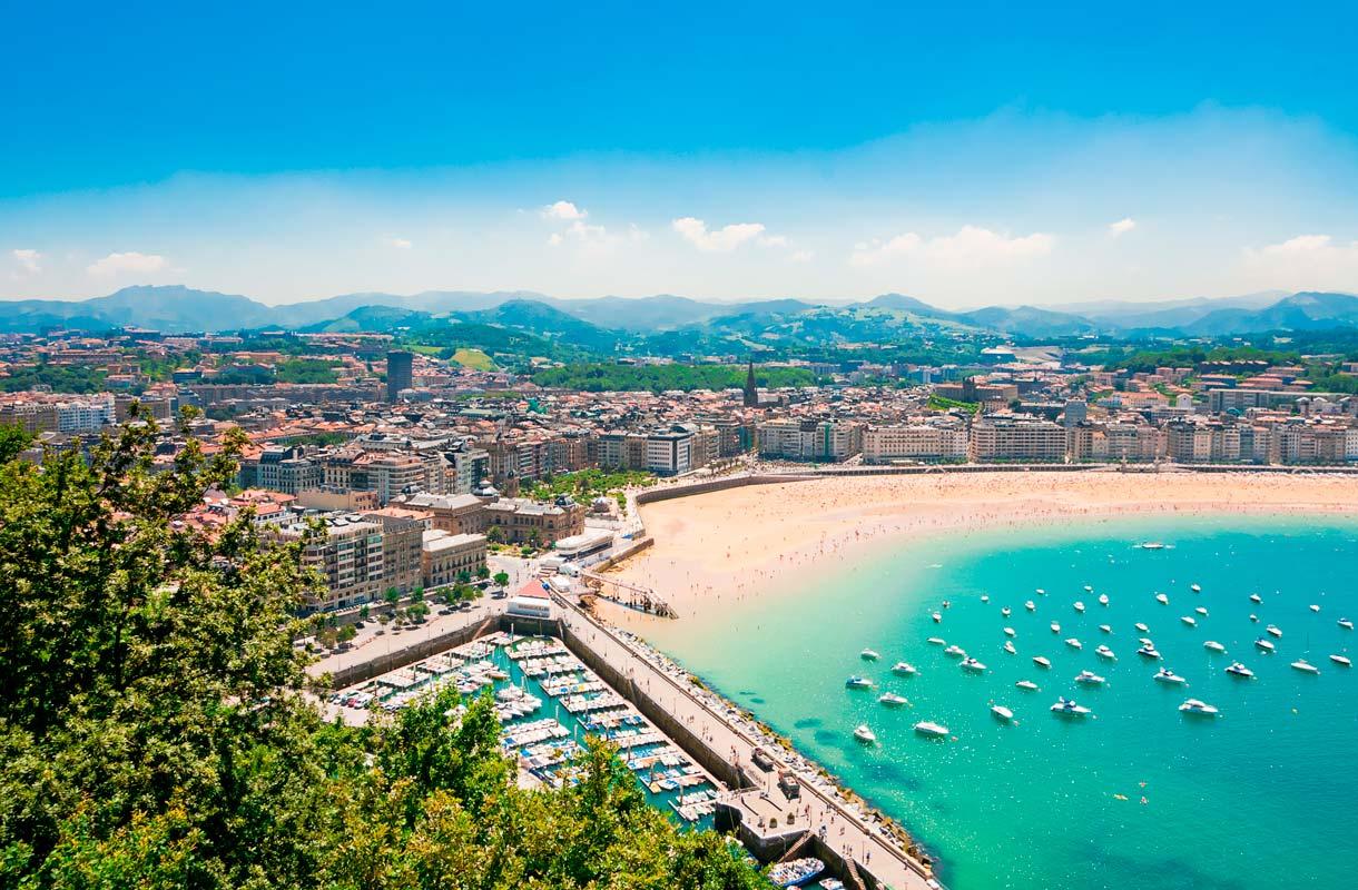 San Sebastian on Espanjan kalleimpia kaupunkeja