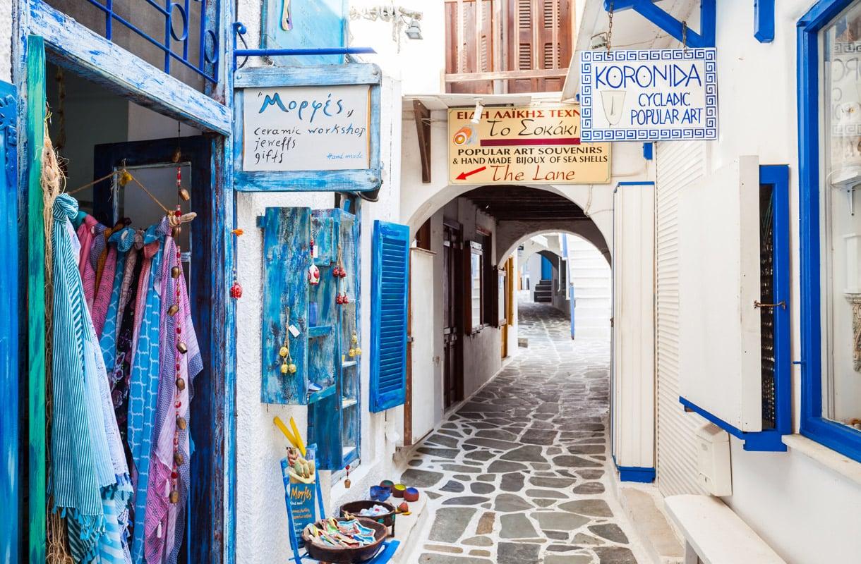 Naxos, Kreikka