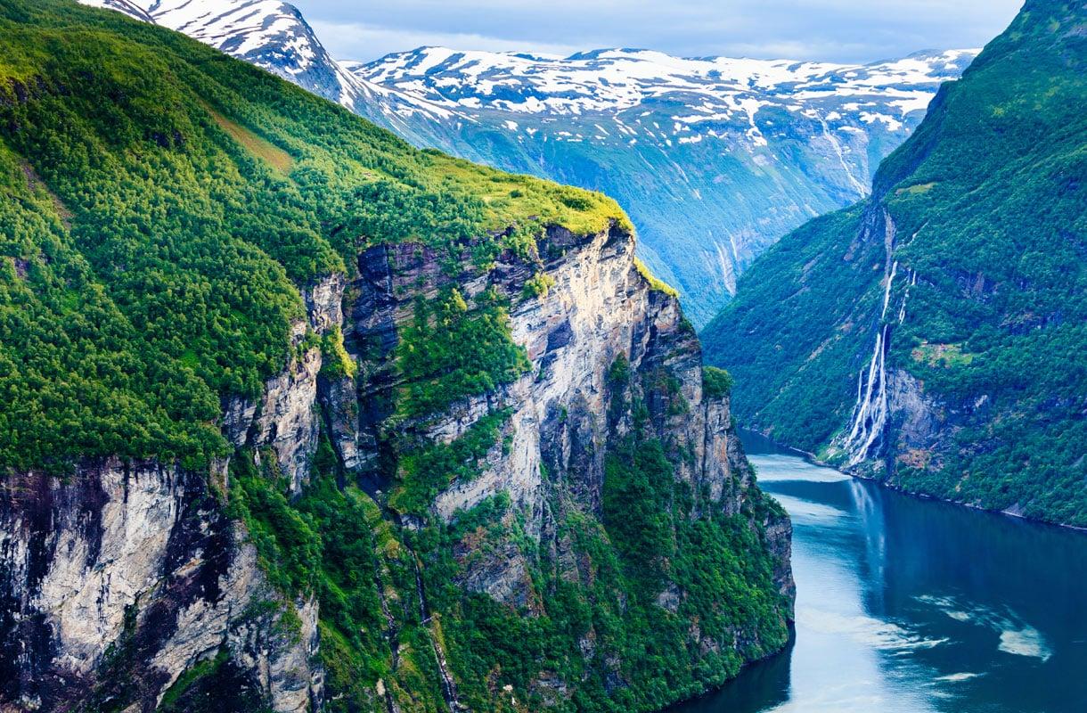 Geiranger, Norja