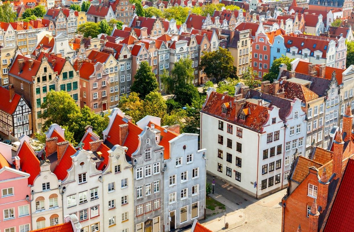 Gdanskin vanhakaupunki, Puola