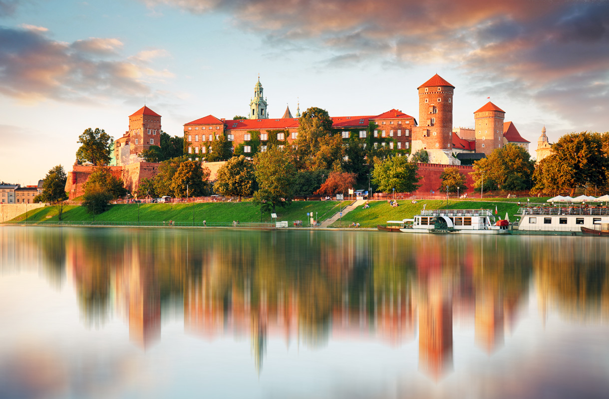 Wawelin linna, Krakova