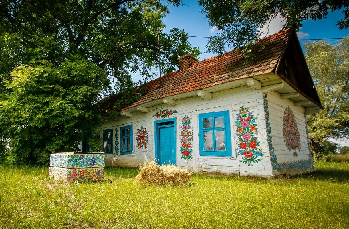 Zalipien kylä, Puola