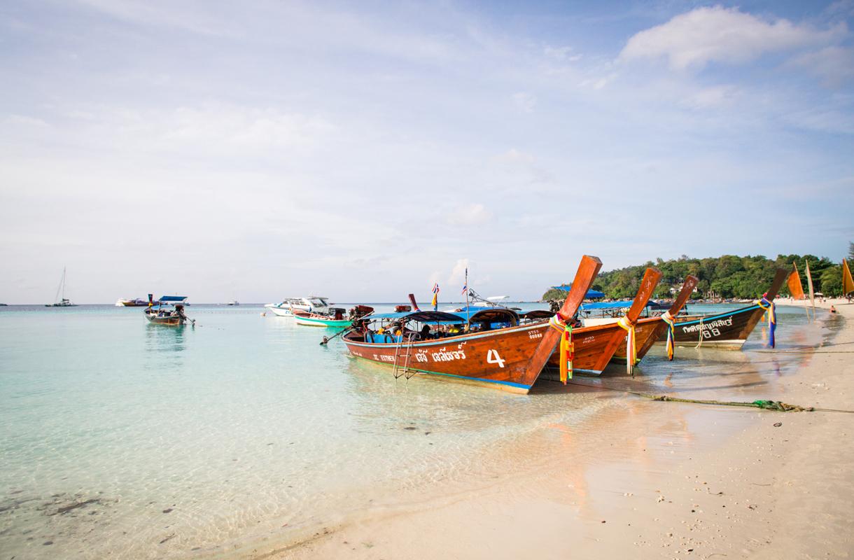 Liikkuminen Thaimaassa