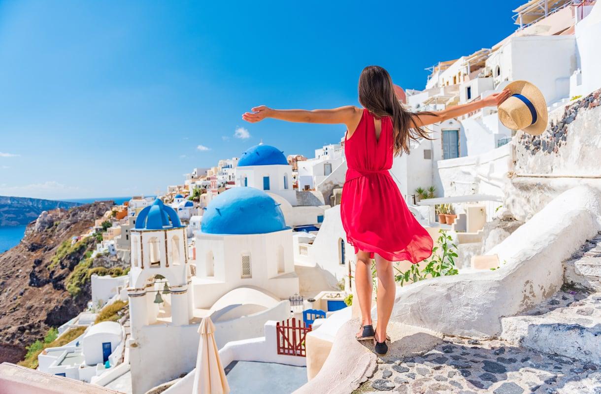 Romanttinen loma Santorinilla
