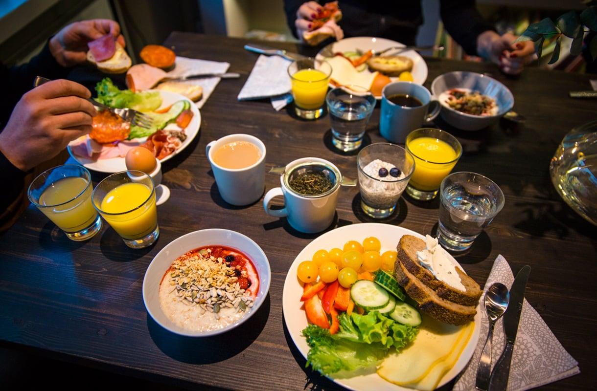 Hotel Fabianin aamiainen, Helsinki