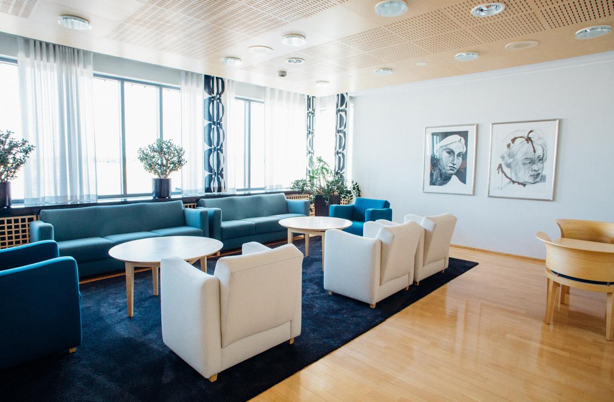 VIP Presidentti, Helsinki-Vantaa