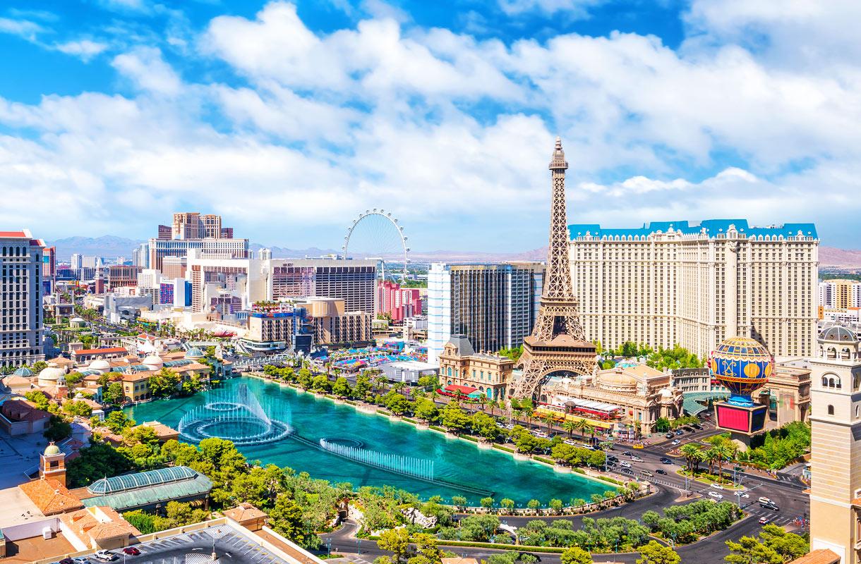 Las Vegas tunnetaan kasinoistaan