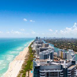 Miami on trooppinen kaupunkikohde Yhdysvalloissa