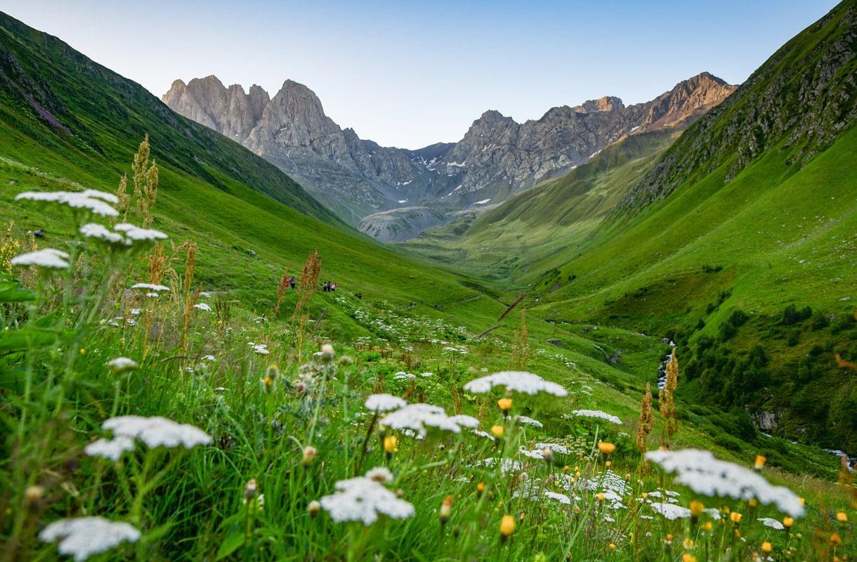 Kazbegin kansallispuisto, Georgia