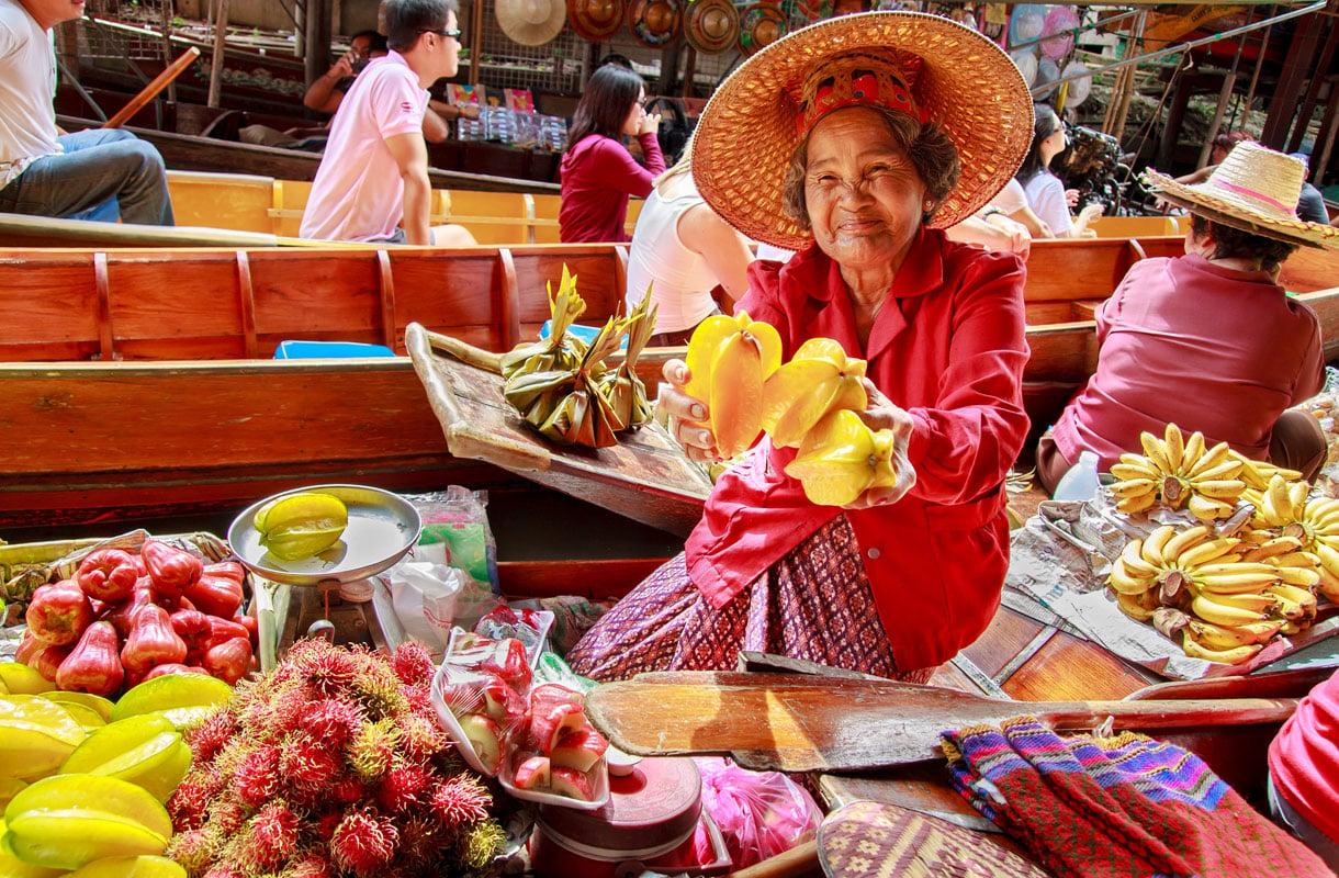 Parhaat päiväretket Bangkokista