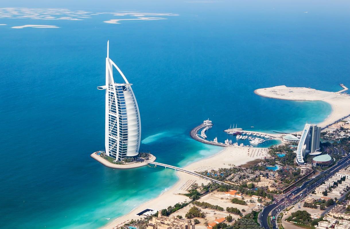 Voiko Burj Al Arab -hotellissa vierailla?
