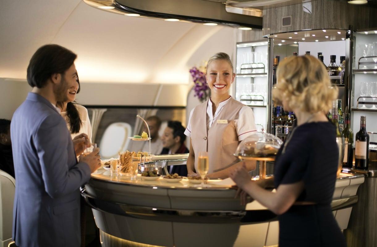 Emirates-lentoyhtiön ykkösluokka
