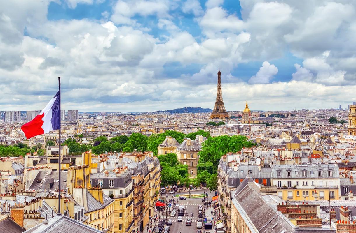 Junalla Lontoosta Pariisiin