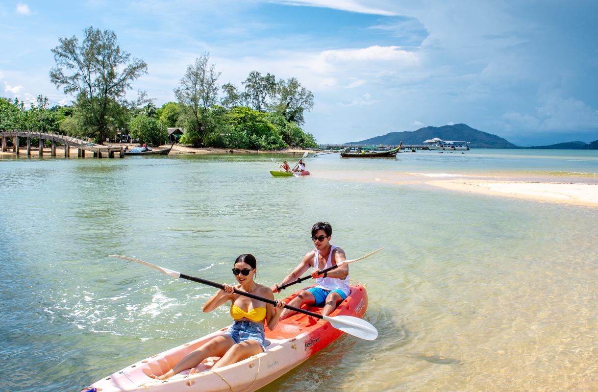 Aktiiviloma thaimaassa
