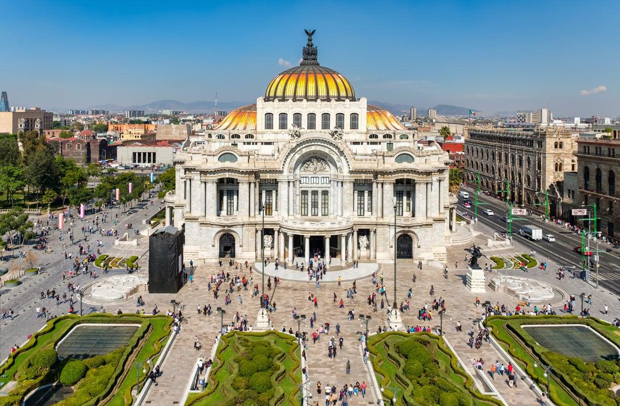 Minne matkustaa Meksikossa?