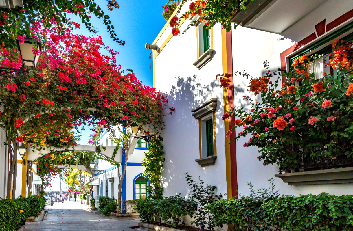 Puerto de Mogan on Gran Canarian kauneimpia lomakohteita