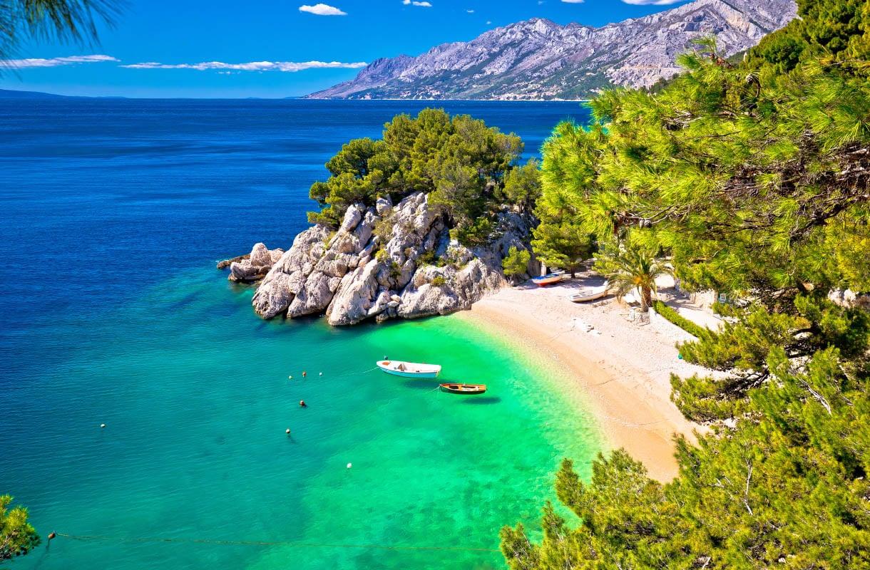 Makarskan Riviera, Kroatia