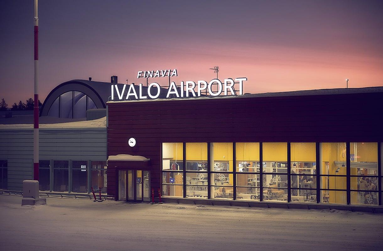 Lento Helsinki Ivalo