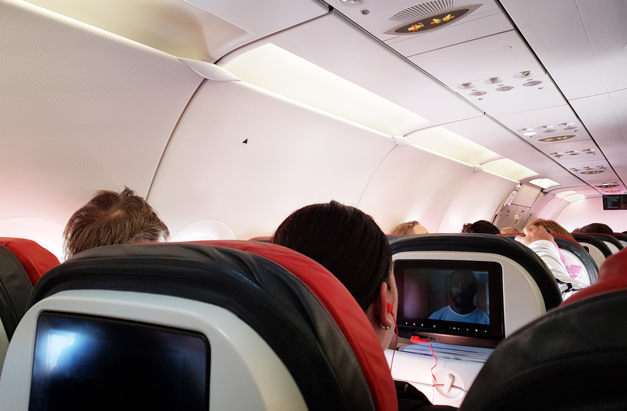 Lentokoneen viihdejärjestelmä
