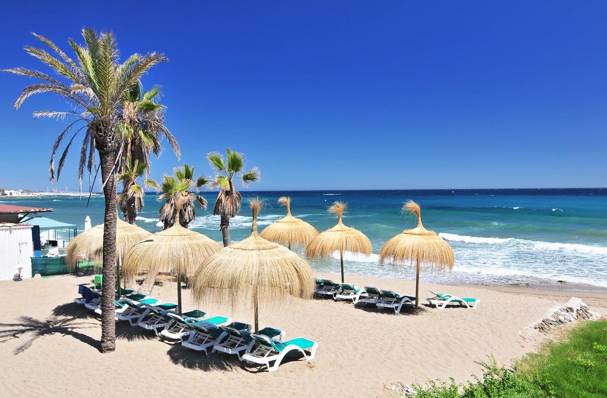 Marbella on Malagan naapuri Espanjassa