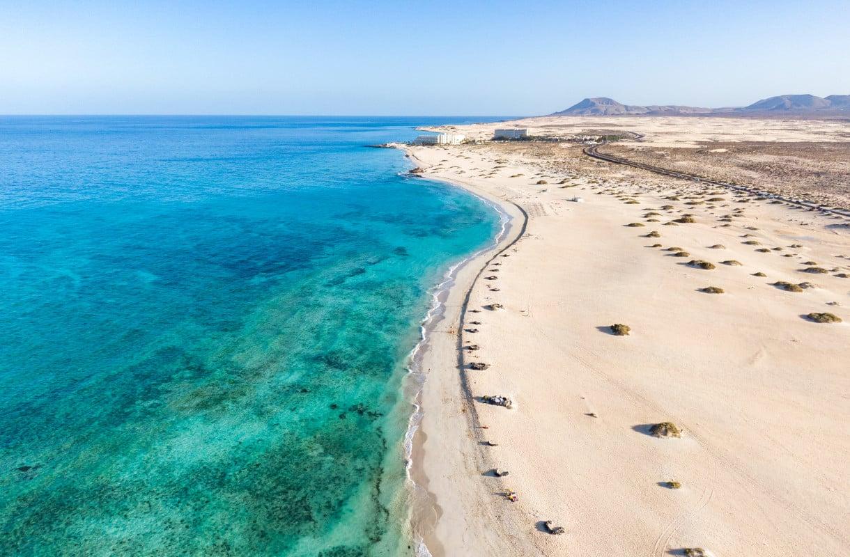 Fuerteventuran hiekkadyynit