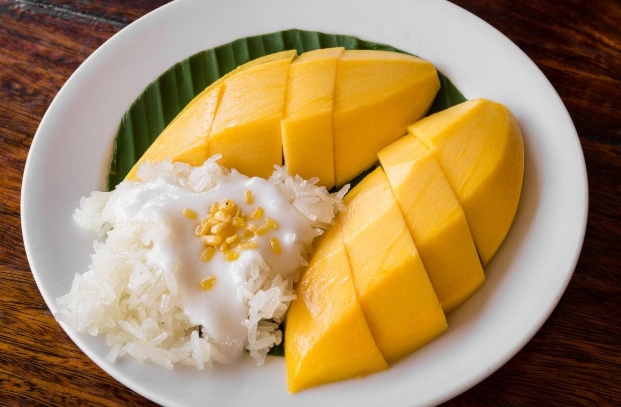 Mango-kookosriisi