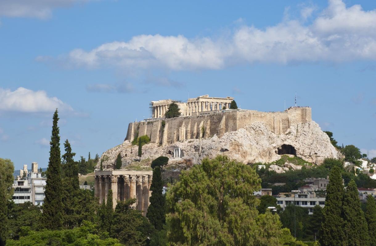 Ateenan nähtävyydet